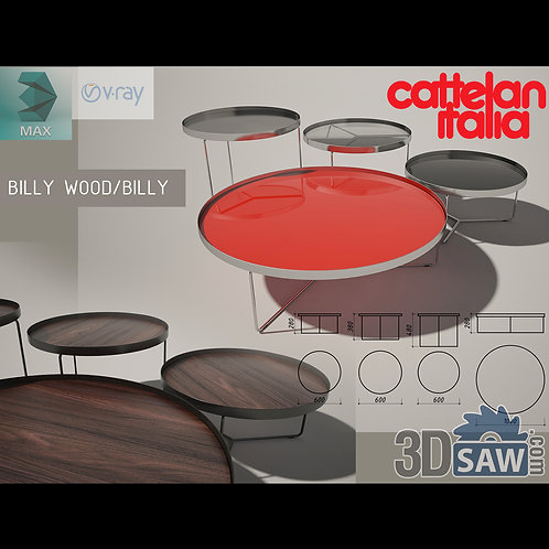 3ds Max Table Model - 3d Model Free Download - MX-1193