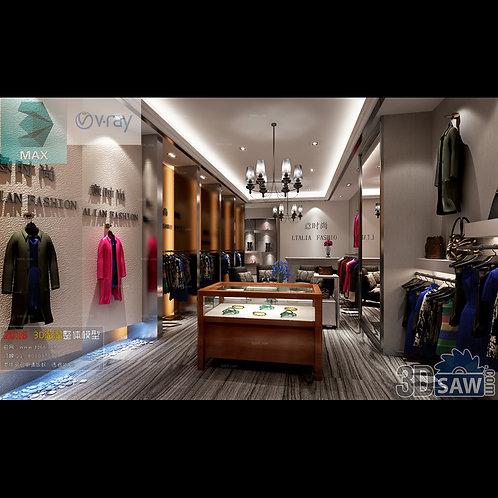 3d Interior Design - Store Design - 3DS Max Shop - Store Decoration Proj