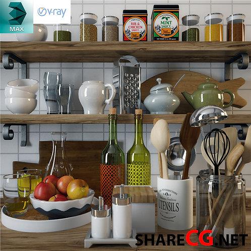 Kitchen Set Decor - MX-0000003