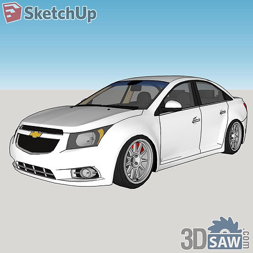 Car Vehicle Models - Chevrolet Cruze 12 - SU-0000124