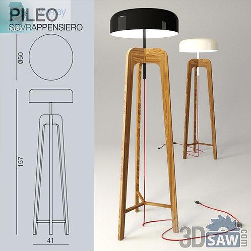 Floor Lamp - Pileo Torchere - MX-0000064