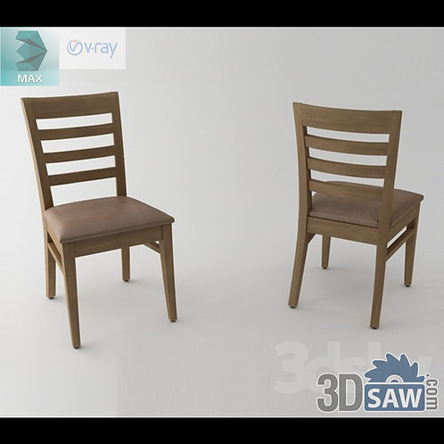 3ds Max Chair Model - 3d Model Free Download - MX-982