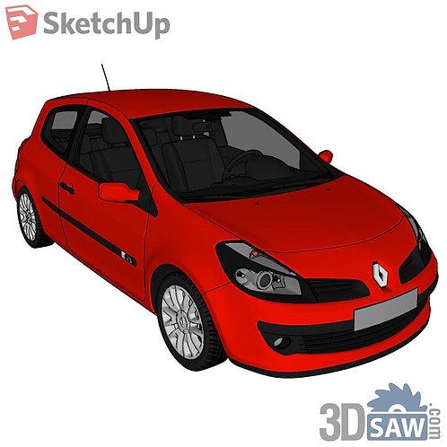 Car Vehicle Models - Renault Clio - SU-0000178