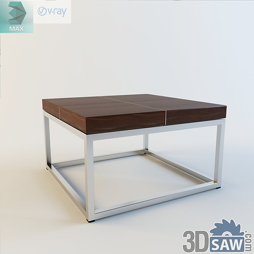 3ds Max Table Model - 3d Model Free Download - MX-1187