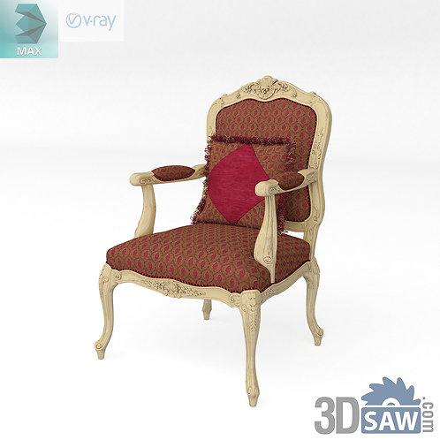Classic Armchair - Baroque Decor - Vintage Furniture - MX-526