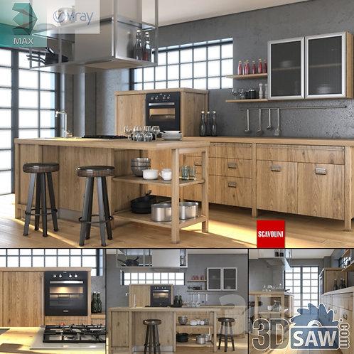 Kitchen Cabinets Casework - Kitchen Room Design - MX-649