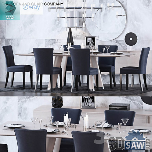 Table And Chairs Set - MX-0000186