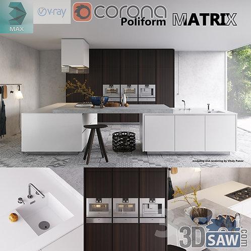 Kitchen Cabinets Casework - Kitchen Room Design - MX-651
