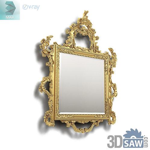 Mirror - Specchiera - Baroque Decor - Vintage Furniture - MX-540