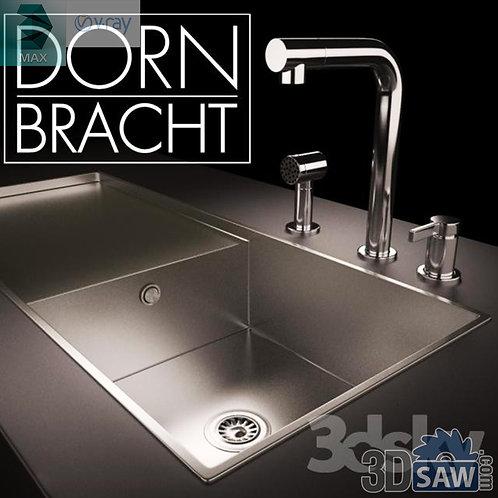 3ds Max Kitchen Sinks - Kitchen Items - 3d Model Free Download