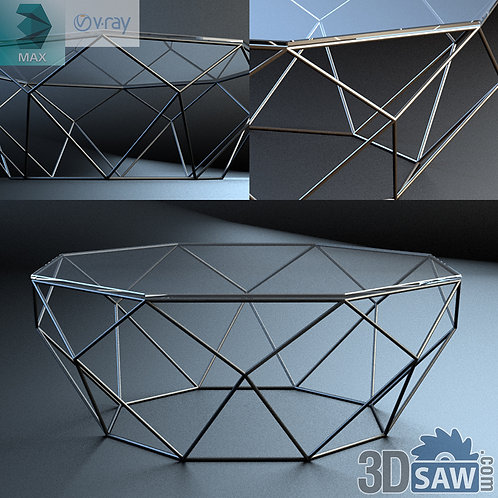 3ds Max Table Model - 3d Model Free Download - MX-1204