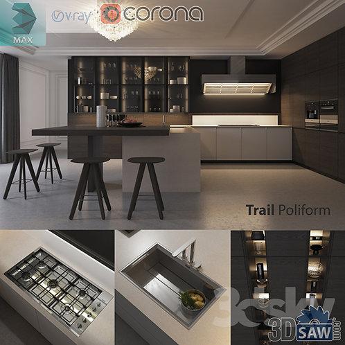 Kitchen Cabinets Casework - Kitchen Room Design - MX-638