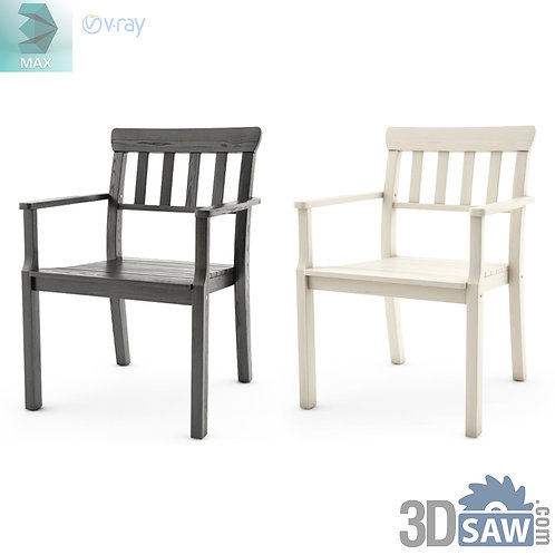 3ds Max Chairs Model - 3d Model Free Download - MX-1131
