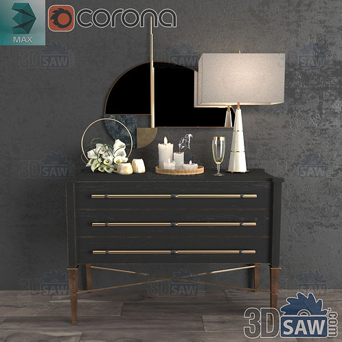 Buffet Cabinet - Corona - MX-0000267