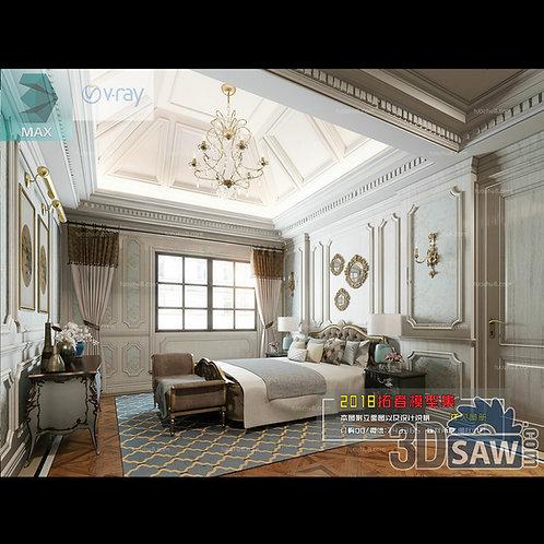 3d Model Interior Design Free Download - 3ds Max Bedroom Design - MX-900