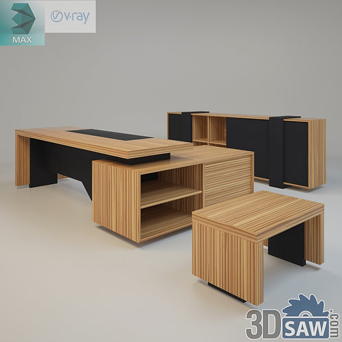 3ds Max Table Model - 3d Model Free Download - MX-1160