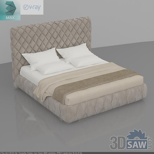 Bed Model - Bedroom Item Decor - MX-0000106