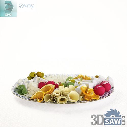 3ds Max Food - Fruit Dessert - Kitchen Items - 3d Model Free Download