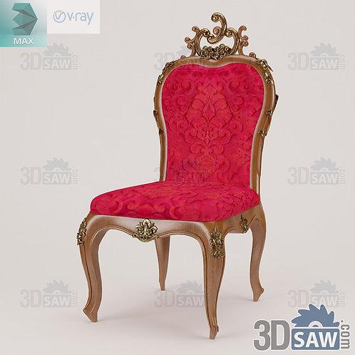 Chair - Baroque Decor - Vintage Furniture - MX-0000380
