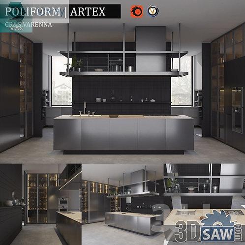 Kitchen Cabinets Casework - Kitchen Room Design - MX-642