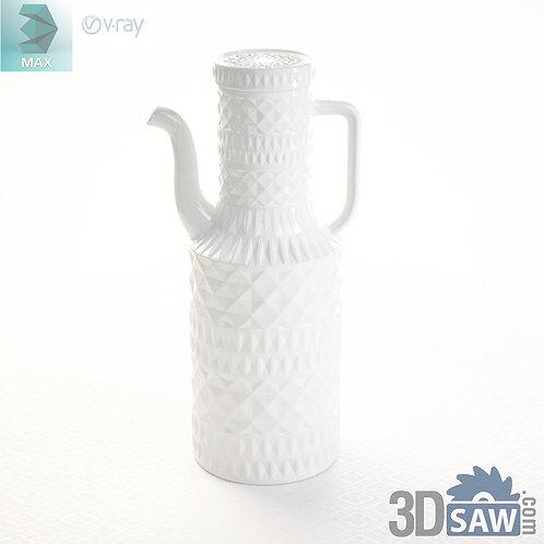 3ds Max Milkpot - Kitchen Items - 3d Model Free Download