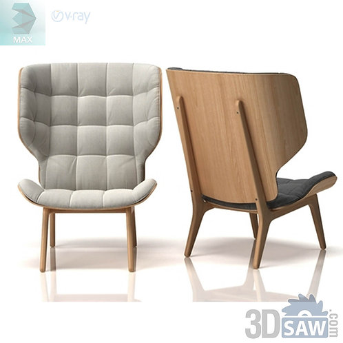 Armchair Model - Mammoth Luxury Modern Armchair - MX-0000113