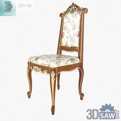 Chair - Baroque Decor - Vintage Furniture - MX-486