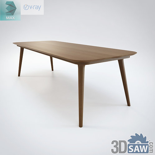 3ds Max Table Model - 3d Model Free Download - MX-961