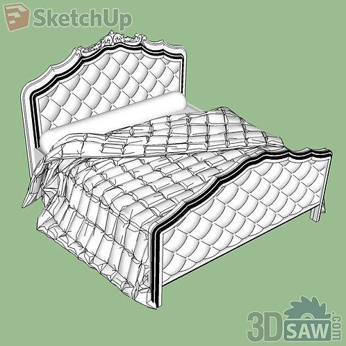 Bed - Bedroom Item Decor - SU-0000055
