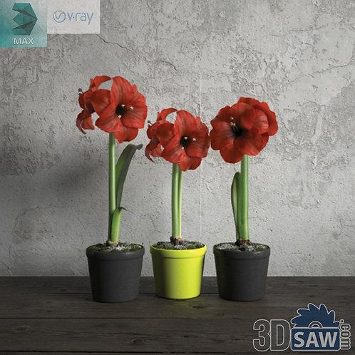Flower Vase - Interior Plants - Planter - Plant - MX-666