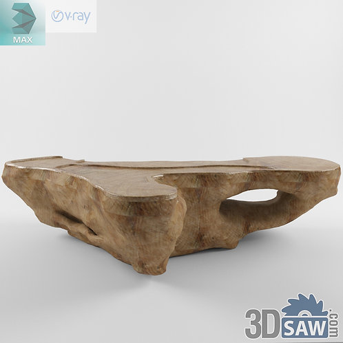 Table Model - Table Solid Wood - MX-591