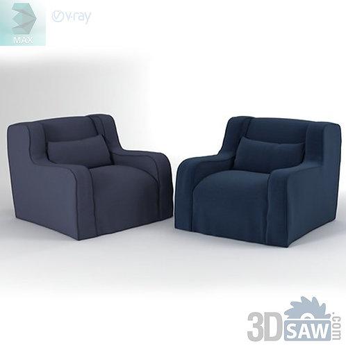 Armchair Model - Romeo Lounge Armchair - MX-0000121