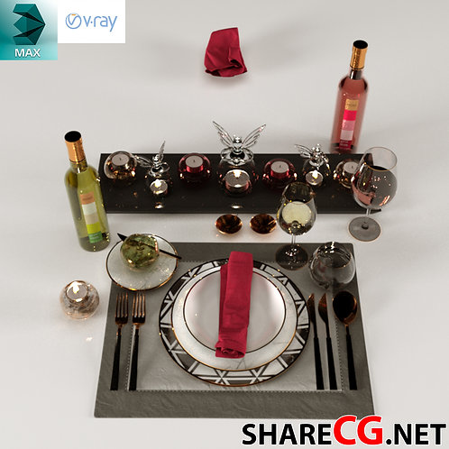 Dinner Set Table - MX-0000008