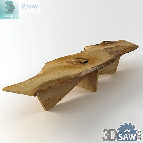 Table Model - Coffee Table - Table Solid Wood - MX-598
