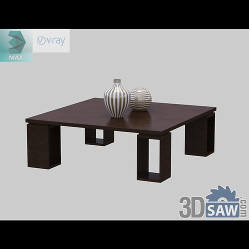 3ds Max Table Model - 3d Model Free Download - MX-1195