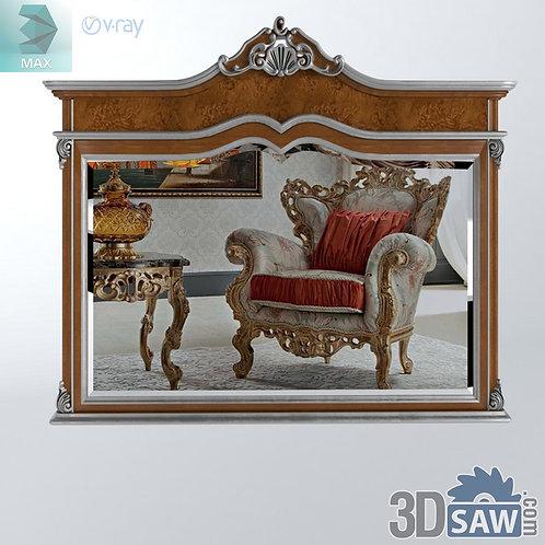 Mirror - Specchiera - Baroque Decor - Vintage Furniture - MX-503