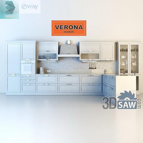 3ds Max Cabinets Casework - Kitchen Room Design - 3d Model Free Download