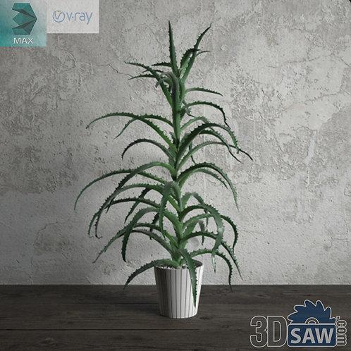 Flower Vase - Interior Plants - Planter - Plant - MX-673