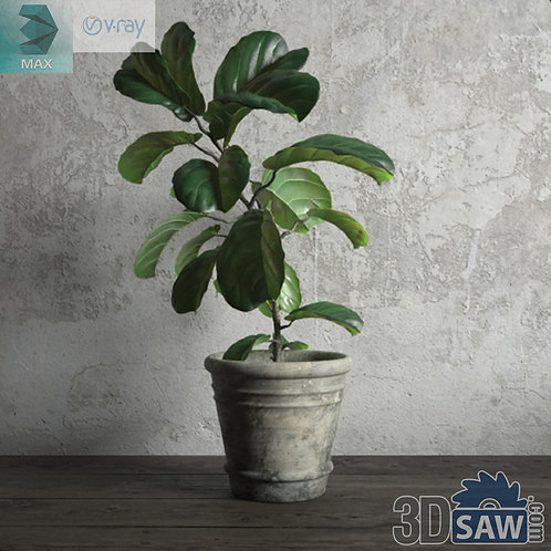 Flower Vase - Interior Plants - Planter - Plant - MX-679