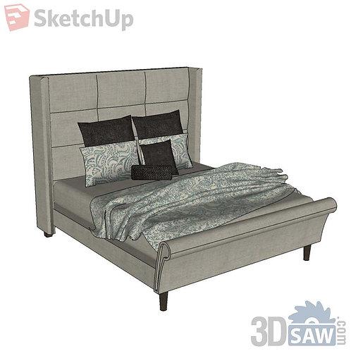 Bed - Bedroom Item Decor - SU-0000057