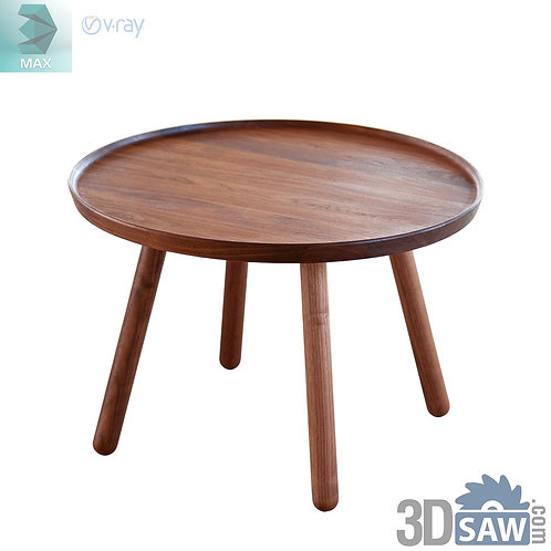 3ds Max Table Model - 3d Model Free Download - MX-1181