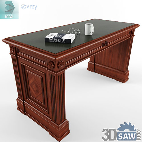 3ds Max Table Model - 3d Model Free Download - MX-1158