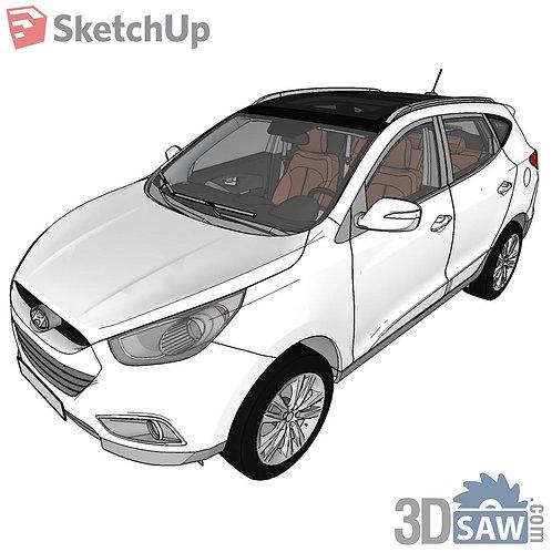 Car Vehicle Models - Hyundai LX35 Aarquiteta - SU-0000165