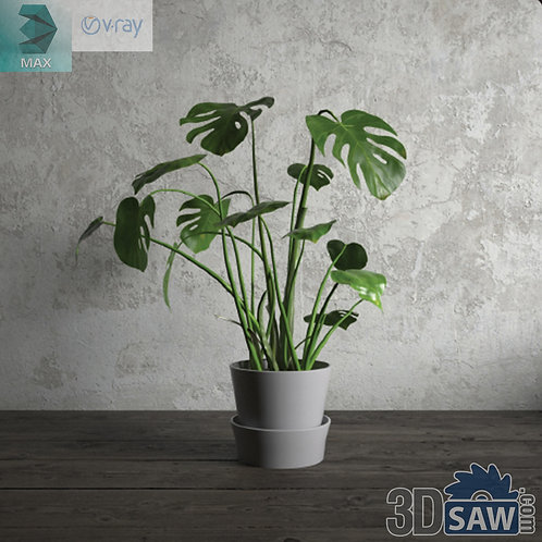 Flower Vase - Interior Plants - Planter - Plant - MX-682