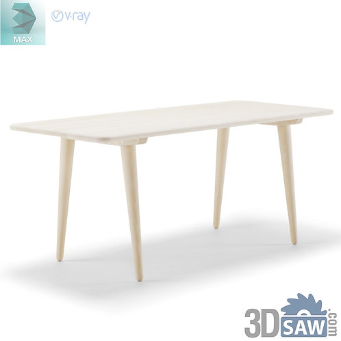 3ds Max Table Model - 3d Model Free Download - MX-954