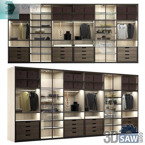 Wardrobe - Display Cabinets - Shelf - Sideboards - MX-739