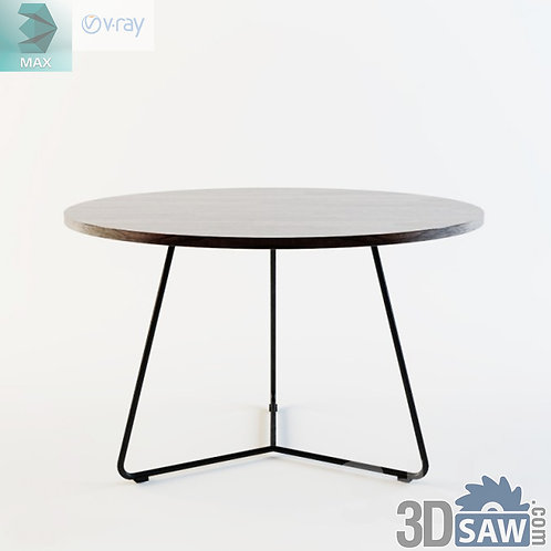 3ds Max Table Model - 3d Model Free Download - MX-1188
