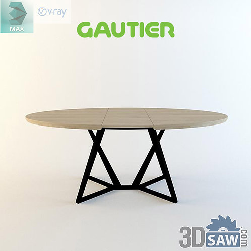 3ds Max Table Model - 3d Model Free Download - MX-990