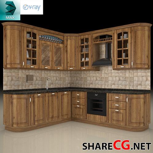 Kitchen Furniture - Kitchen Cabinets Casework - MX-0000009