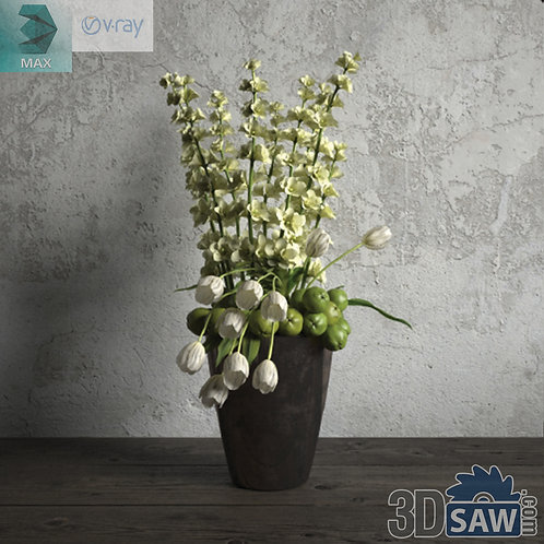 Flower Vase - Interior Plants - Planter - Plant - MX-663